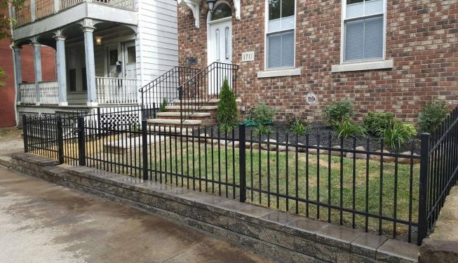 Retaining Walls by Tab Property Enhancement