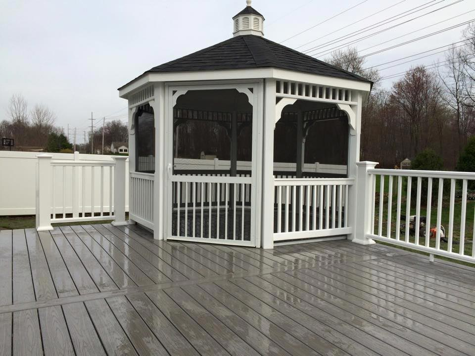 In addition to pergolas and gazebos we can install 3 season rooms, Ramada's  and outdoor structures. Call or email us for details. - Pergolas And Gazebos By Tab Property Enhancement