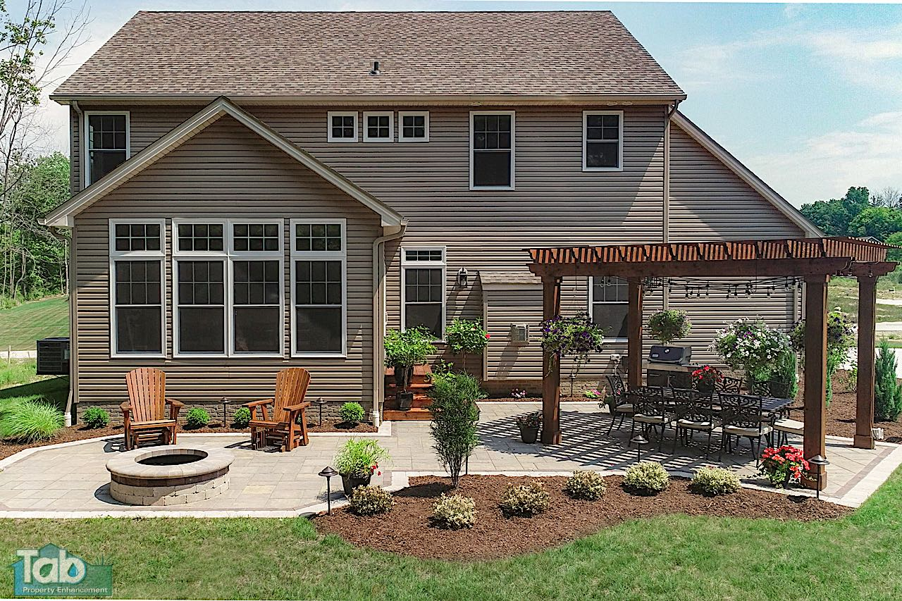 Paver Patios & Outdoor LIving | Home Improvement Ohio ... on Outdoor Living And Patio id=64212
