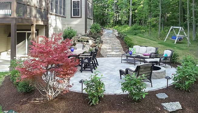 Paver Patios & Outdoor Living Spaces