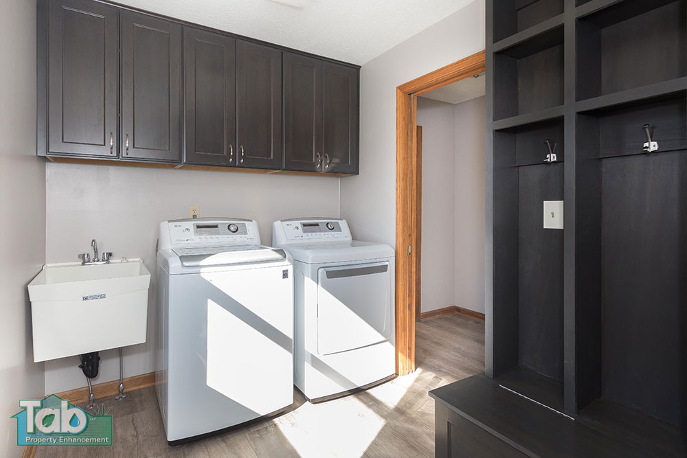 Laundry Room Remodal | Tab Property Enhancement