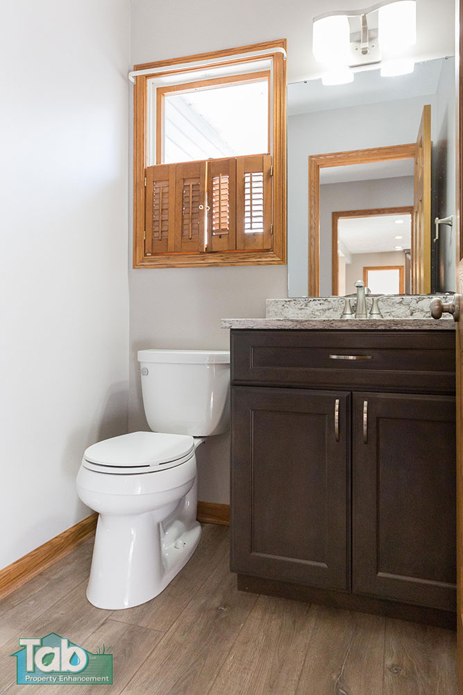 Bathroom Renovation by Tab Property Enhancement