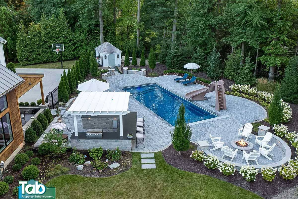 Paver Patio | Hardscaping | Tab Property Enhancement